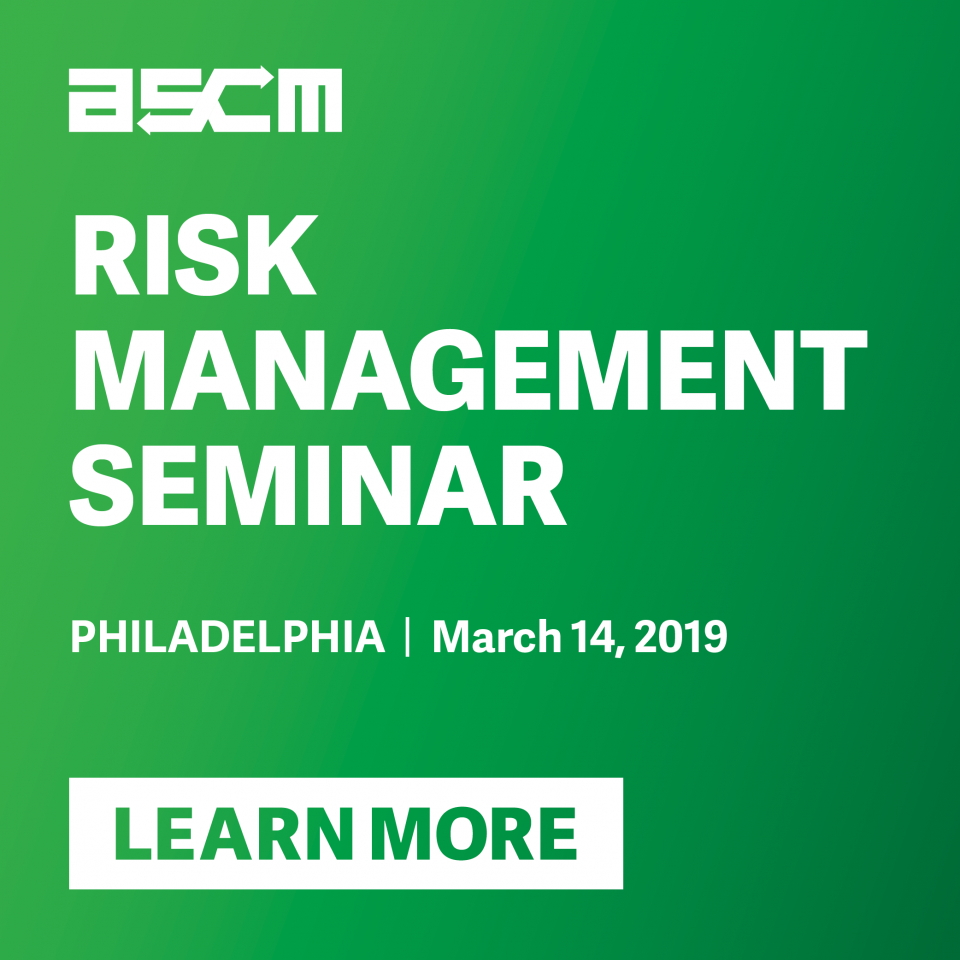 Sign up for the Risk Management Seminar in March!